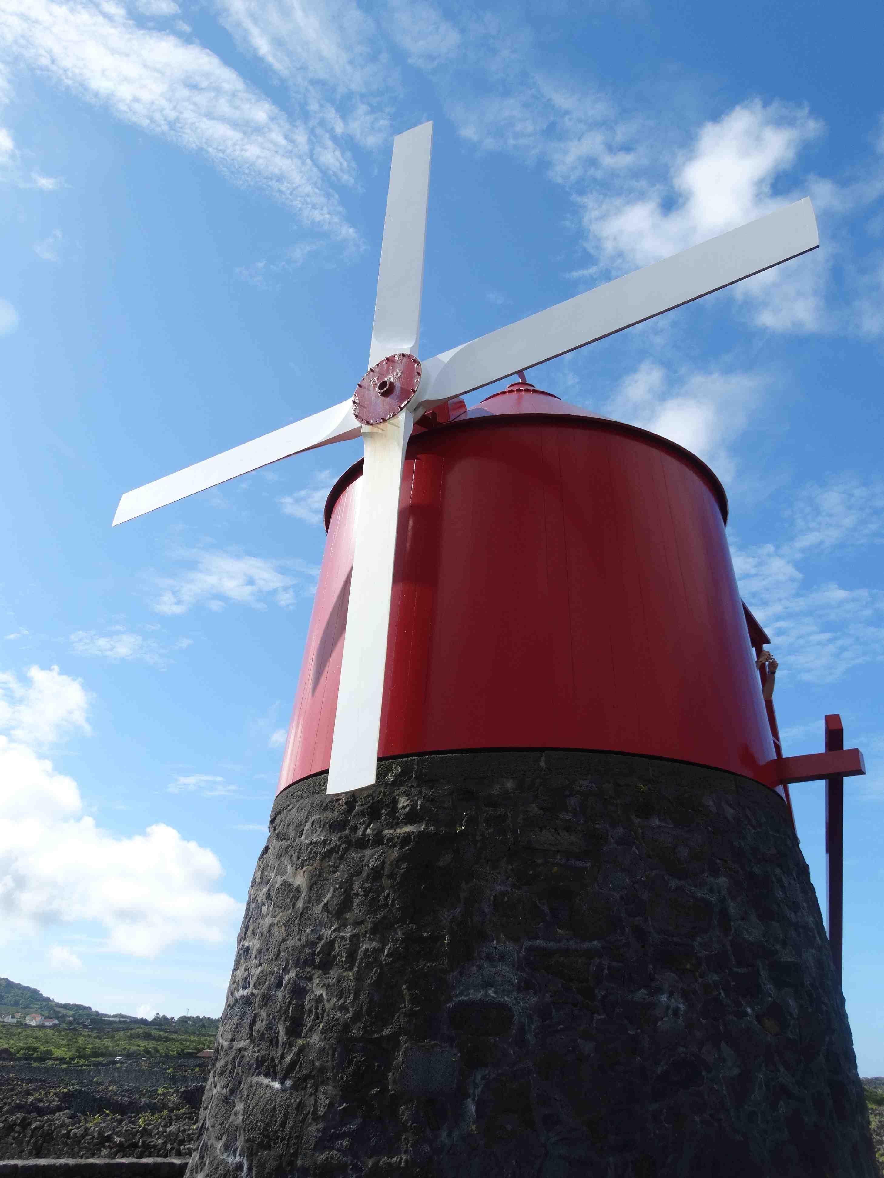 Windmolen op Pico