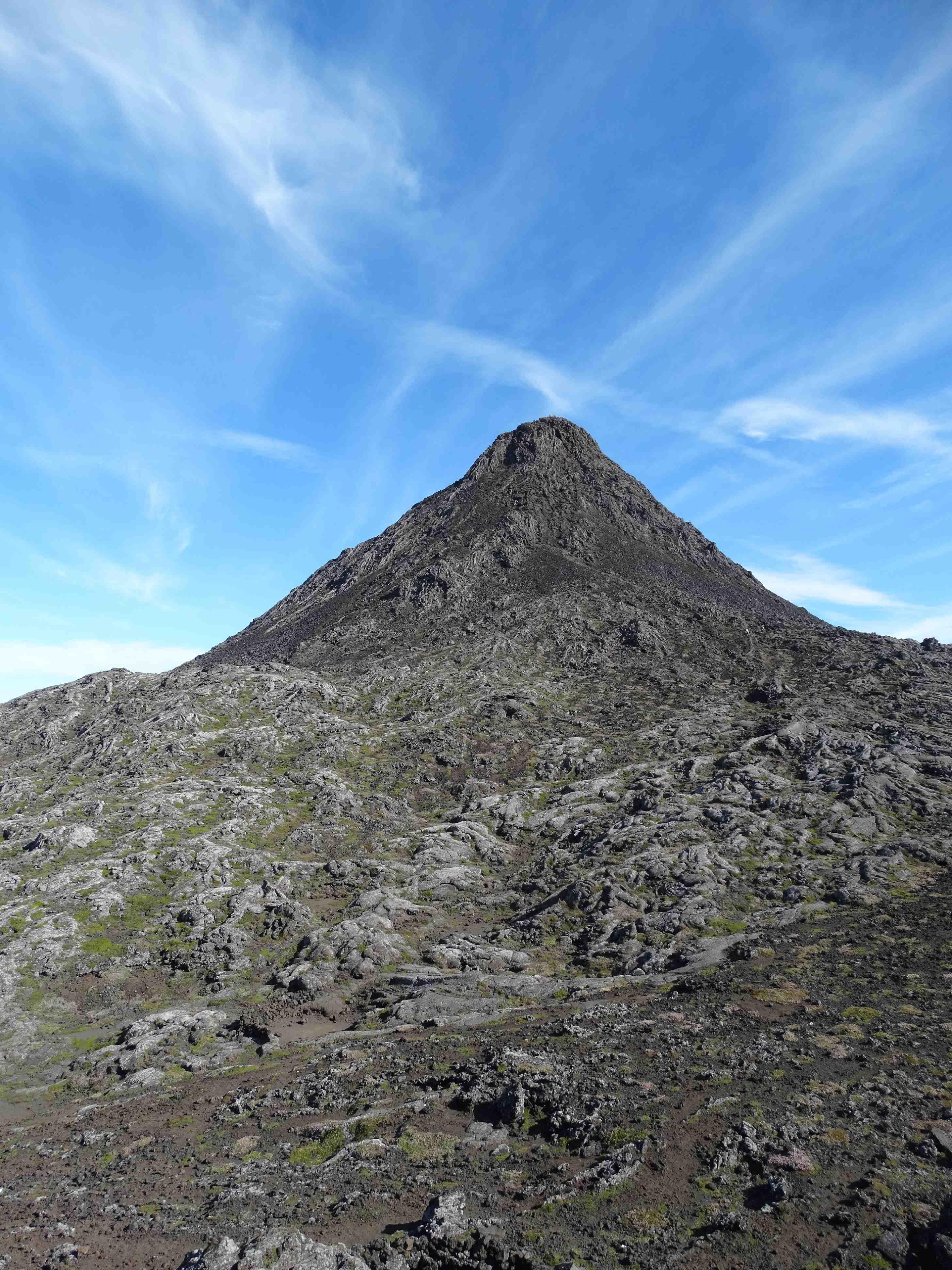 Alleen nog ff Piquinho beklimmen op Mount Pico