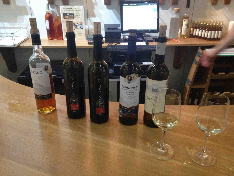 Wijnproeven bij Pico wines