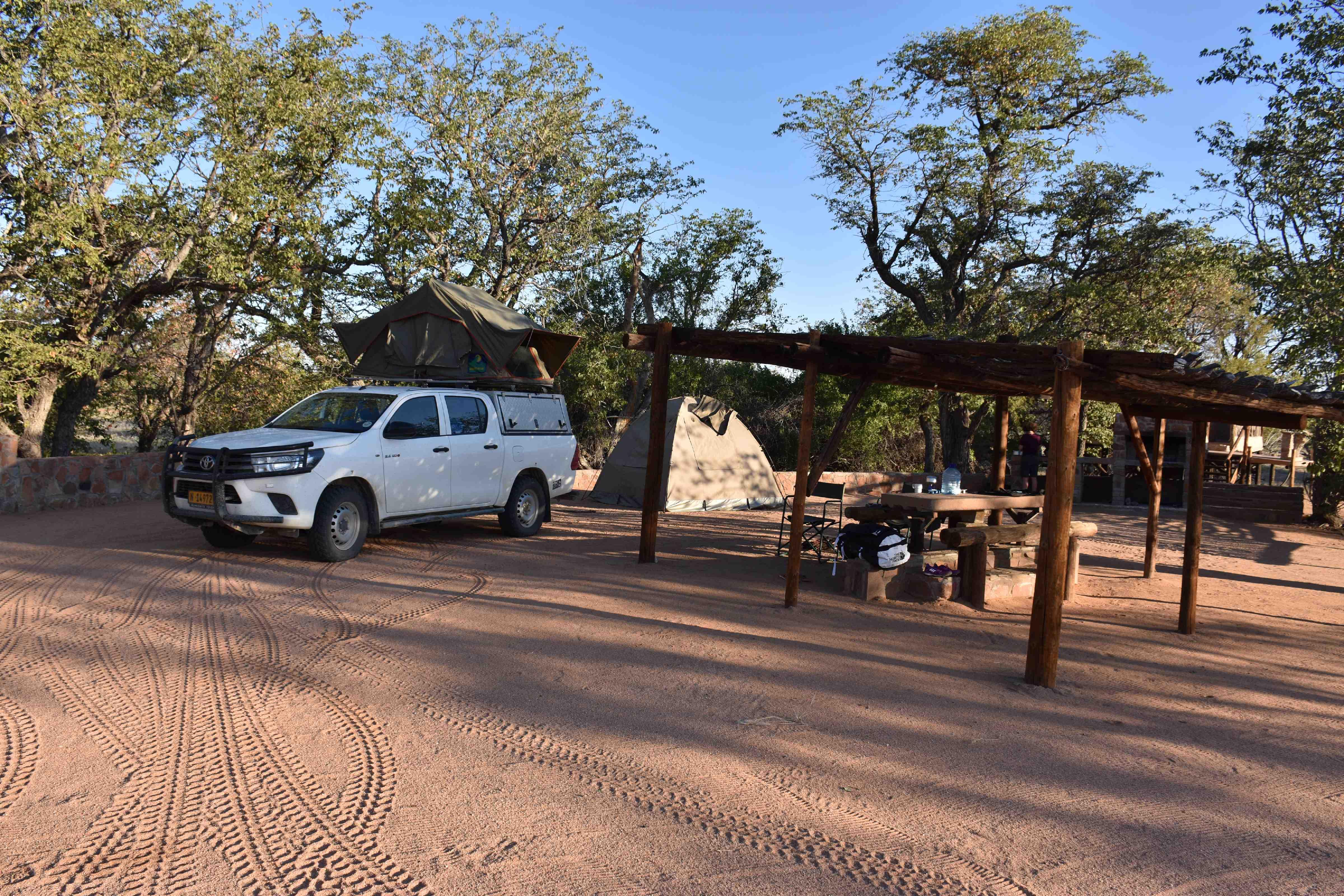 Madisa campsite