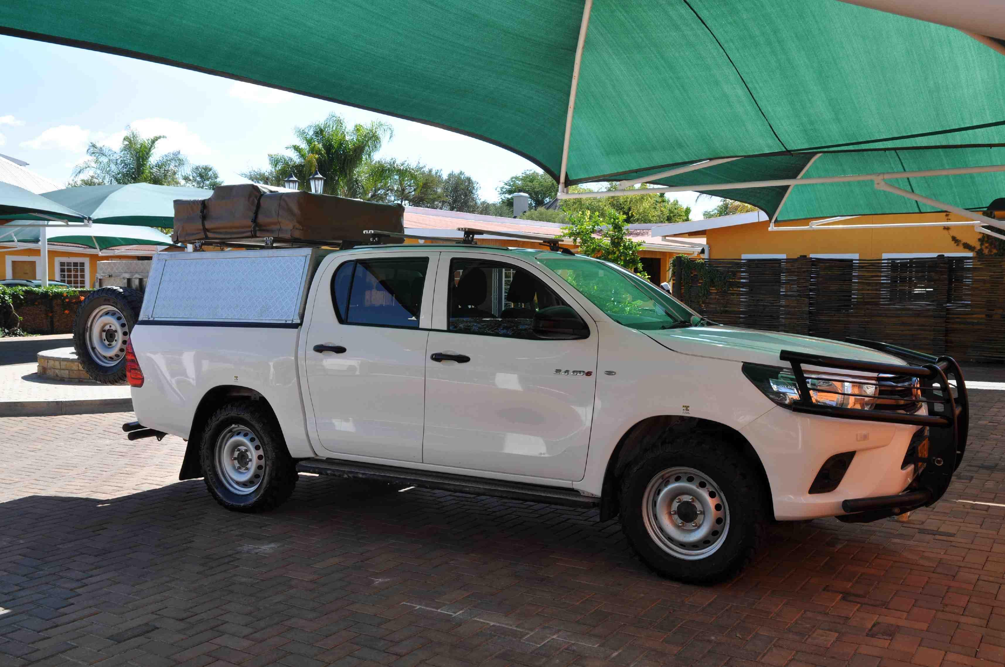 Toyota Hilux - ons huis de komende 3,5 week