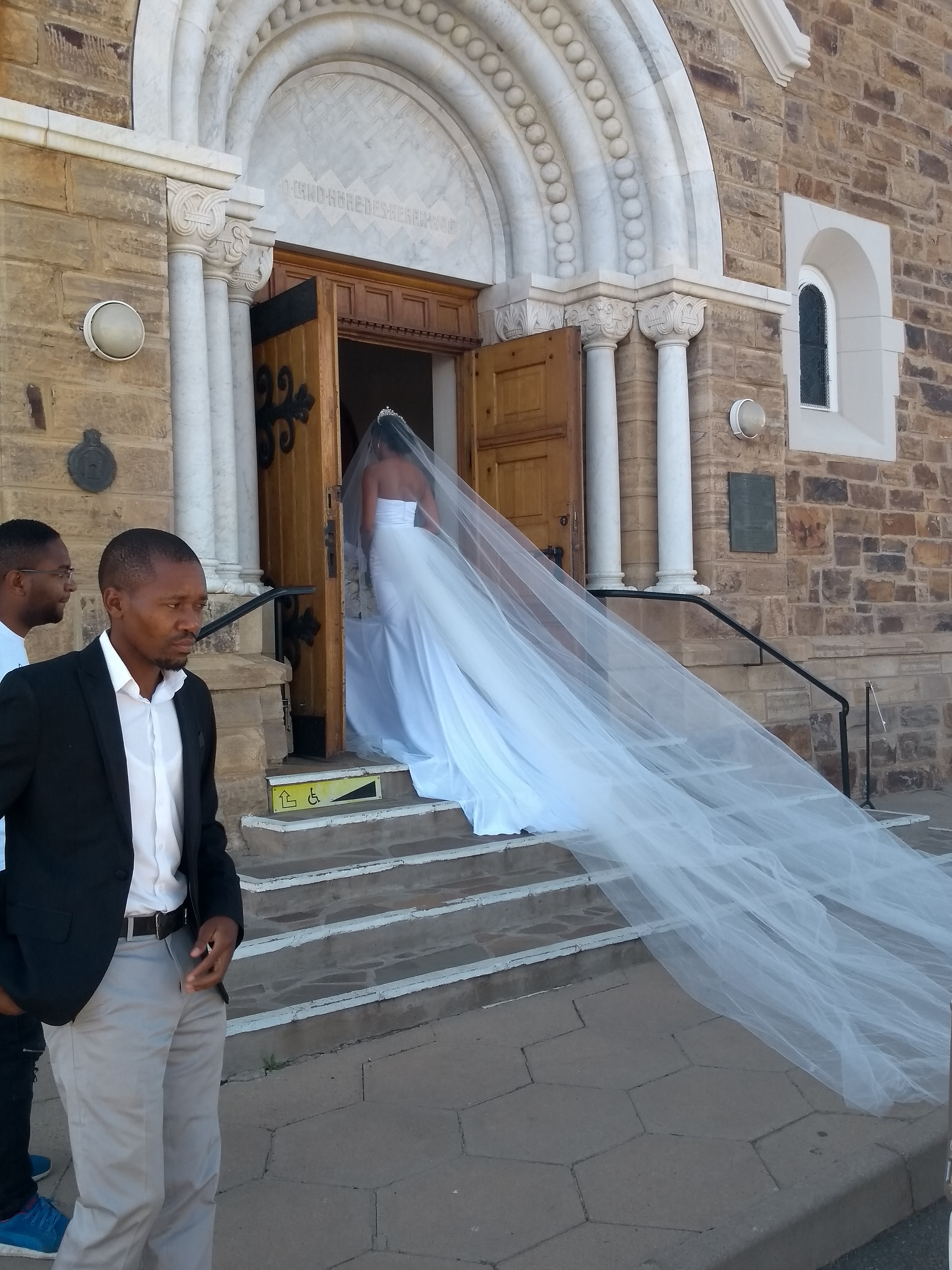 Namibische bruid