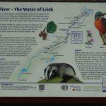 Informatiebord Walk of Leith