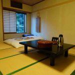 Traditionele Japanse hotelkamer