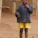 Meisje uit Madagascar