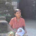 Birmese vrouw in Mrauk U