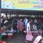 Vismarkt in Sittwe