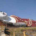 De grootste liggende Boeddha (Win Sein Taw Ya)