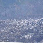 Zwarte gletsjer in de buurt van Bariloche