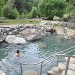 Warmwater baden van Pozones