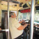 Chauffeur van chickenbus