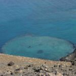 Vulkaan landschap op Galapagos