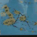 Route van Galapagos trip
