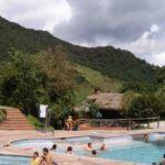 Warmwater baden van Papallacta